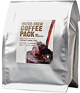 水出しアイスコーヒーパック 35g×10パック/マメーズ焙煎工房 コールドブリュー約8時間ですっきりアイスコーヒーが完成。スペシャルティコーヒー100%の高級水出しコーヒーです。