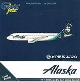 GeminiJets GJASA1774 アラスカ A320-200 リバリー N625VA / GEMGJ1774 1:400 ジェミニ ジェッツ アラスカ エアバス A320-200#N625VA (塗装済み/事前組み立て済み)