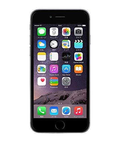 Apple iPhone 6 16GB スペースグレイ 【国内版SIMフリー】MG472J