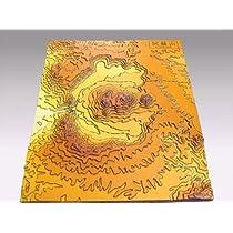 手作り立体地図阿蘇山