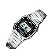 カシオ CASIO デジタル 国内正規 レディース 腕時計 LA670WA-1JF