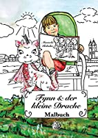 Fynn und der kleine Drache - Malbuch: 2. Auflage