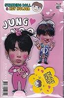 JUNG KOOKジョングクBTS防弾少年団スタンディングドール&キーホルダー ※韓国店より発送の為、お届けまでに約2週間