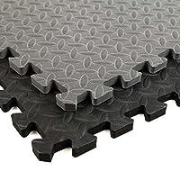 IncstoresダイヤモンドソフトExtra Thickアンチ疲労酷使Foamタイル–2ft x 2ftタイルIdeal for Laundry Roomフローリング、キッチンマット、練習マット、ガレージマットand More。。。 36 Tile Pack, 144 Sqft ブラック 5800549