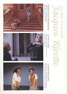 ジャック・リヴェット傑作選 DVD-BOX (セリーヌとジュリーは舟でゆく/北の橋/彼女たちの舞台)