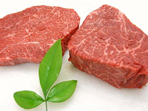 ギフト用 厳選 【 黒毛和牛 雌牛 限定 】 あっさり赤身モモステーキ と やわらか ランプ芯 ステーキ 8枚 セット 【木箱詰め】