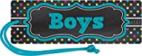 Teacher Created Resources Chalkboard Brights Magnetic Boys Pass [並行輸入品]