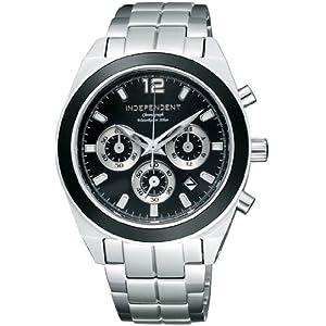 インディペンデント INDEPENDENT 腕時計 ニュースタンダード クロノグラフモデル BA4-019-51 メンズ