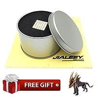 JIALEEY 磁気キューブ 解体おもちゃ 知能開発とストレス解消マグネット トイパズル 建物ブロック オフィス/学校/ホームDIY/デスクトップの飾り用 216個入