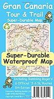 Gran Canaria Tour & Trail Super-Durable Map 5th edition