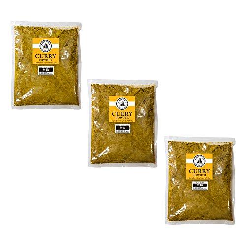 無塩 カレー粉 神戸スパイス カレーパウダー 3kg(1kg×3袋)