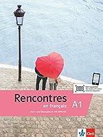 Rencontres en français A1. Kurs- und Uebungsbuch + MP3-CD und Videos