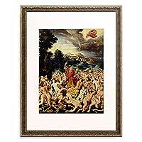 Fendt, Thomas,-1576 「Der Traum Ezechiels, 1565, Epitaph der Magdalena Kromayer aus St. Elisabeth」 額装アート作品