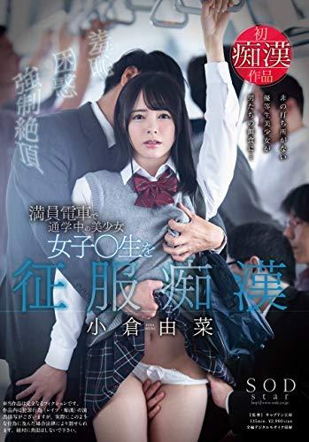 小倉由菜 満員電車で通学中の美少女女子○生を征服痴漢 [DVD]