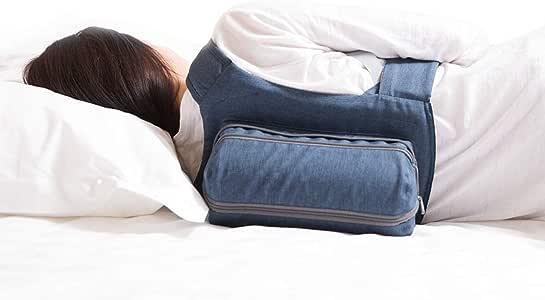 WoodyKnowsサイドスリーピングバックパック いびき防止グッズ  枕 横向き 快眠 無呼吸症候群改善