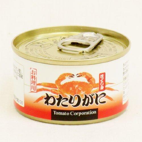 トマトコーポレーション わたりがに ほぐし身 缶詰 60g
