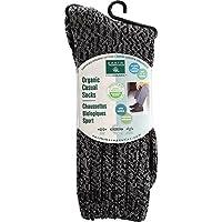 海外直送品Men's Basic Casual Socks, Charcoal 1 by Earth Therapeutics