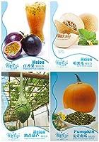種子パッケージ: 1:庭の野菜種子DIYホームガーデン鉢植えの4種類の利用可能な オーガニック1