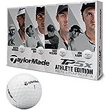 テーラーメイド ゴルフ TAYLOR MADE(テーラーメイド) ゴルフボール TP5X ゴルフボール12個入り 2018年モデルATHLETE EDITION LTD ボールカラーホワイト メンズ B1362201 ホワイト ディンプル:322シームレス カバー:ウレタン