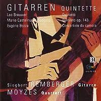 Brouwer/Bozza/Castel:Quintetto
