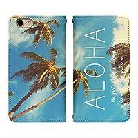 AQUOS sense2 SH-M08 ベルト無し 手帳型 スマホケース スマホカバー bn344(D) アロハ ハワイ ハワイアン 南国 リゾート アクオスフォン アクオスホン スマートフォン スマートホン 携帯 ケース アクオス アクオスセンス2 手帳 ダイアリー フリップ スマフォ カバー