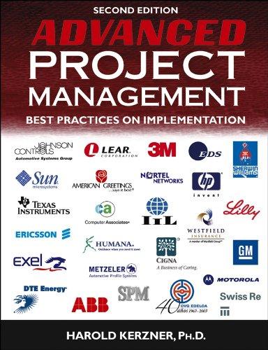 Download Advanced Project Management: Best Practices on Implementation 0471472840