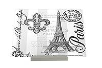 写真フレーム 版画 Picture Frame Travel Kitchen Eiffel Tower Paris Composite Plate
