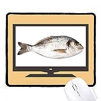 海洋魚の活性食品赤 マウスパッド・ノンスリップゴムパッドのゲーム事務所