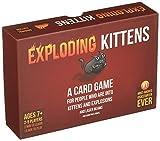 爆発的な子猫:猫と爆発と時にはヤギについてのカードゲーム Exploding Kittens