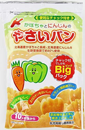 カネ増製菓 かぼちゃとにんじんのやさいパン 88g ×12袋