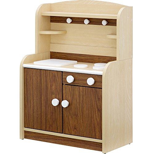 組立品 木製 ままごとキッチン minicook(4色対応) ...