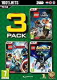 Lego 3 Pack: Jurassic World / Marvel Avengers / Batman 3 (PC DVD) (輸入版)