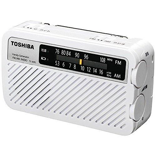 東芝 手回し充電ラジオ TY-JKR5 W(1台)