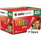 AGFAPHOTO VISTA400 36 カラーネガフィルム ISO400 36枚撮 AP400-36 (5本セット)
