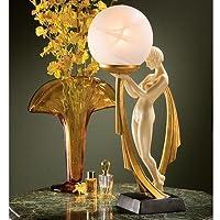 Design Toscano The Desiree Art Deco Lighted Sculpture [並行輸入品]