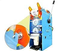 カップシール機カップシーラー 手動カップシール機 デジタル制御 400-600カップ/時 お茶・コーヒー・ジュース タピオカミルクティー豆乳 など 業務用110V