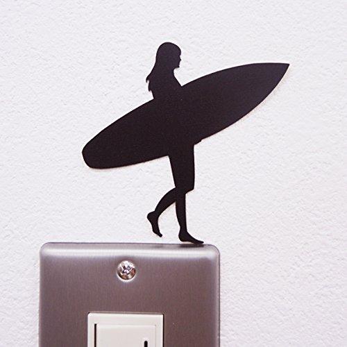RoomClip商品情報 - ウォールステッカー ALOHA LIFE 「サーファーガール」