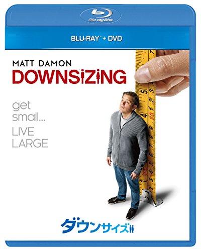 ダウンサイズ ブルーレイ+DVDセット [Blu-ray]