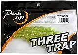 Pickup(ピックアップ) ワーム スリートラップ #002 銀粉スナック.