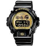 Casio カシオ - G-Shock Gショック - Mirrored Style - DW6900-CB Series - Black w/ Gold Face , One Size 男性用 メンズ 腕時計 (並行輸入)