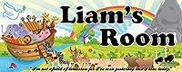 Mona Melisa Designs Customized Noah Liam Name Sign Decorative Wall Sticker [並行輸入品]