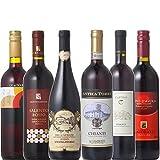 キャンティ 入り イタリア 赤ワイン 飲み比べ セット (750ml×6本セット)