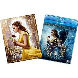美女と野獣 MovieNEXプラス3D:オンライン初回限定商品 [ブルーレイ3D+ブルーレイ+DVD+デジタルコピー(クラウド対応)+MovieNEXワールド] [Blu-ray]