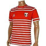 ルコックスポルティフ(le coq sportif) ボーダーTシャツ QS-031121 RED M
