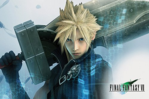 Final Fantasy VII Poster Cloud (91,5cm x 61cm)