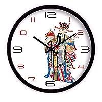 YASE-king リビングルームベッドルームとキッチンの時計ウォール?クリエイティブアーツ腕時計中国ミュートクォーツ時計のための壁時計サイレント動きウォールクロックホームオフィスインテリア