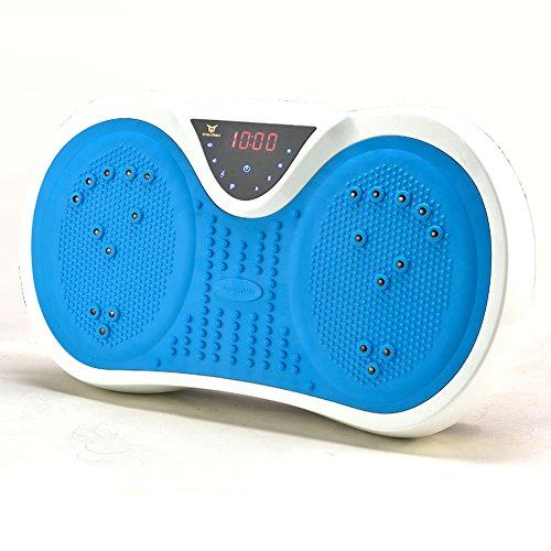 RanBow振動ミニステッパー 円盤型振動マシン振動フィットネスマシン振動ステッパー ブルブル運動ぶるぶる運動有酸素運動 シェイプアップ/ダイエット/エクスサイズ/老害物排出/脂肪燃焼/メダボ太い肩腕足腰周りのムダ肉を 音楽プレイヤー機能付・磁石足ツボマット・自発光式メーター&リモコン付・USB ポート付・運動方程式機能付
