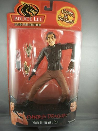 Bruce Lee - Shih Kien As Han Figure Enter The Dragon