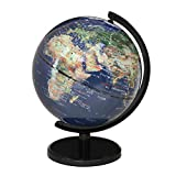 不二貿易 地球儀 SATELLITE 直径13㎝85285