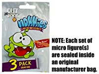 "Cut The Rope Nommies Collectible ~0.7"" Micro-Figures: Set #18"